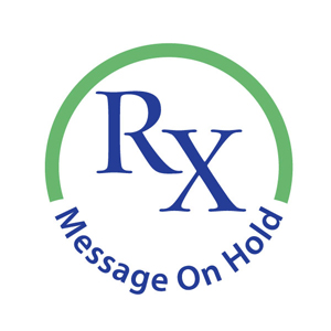 RX Message on Hold logo